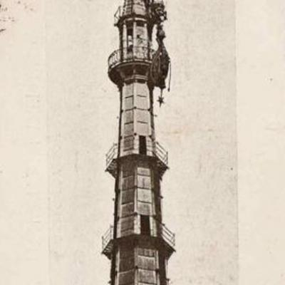 1904 Mole Antonelliana Post Nubifragio